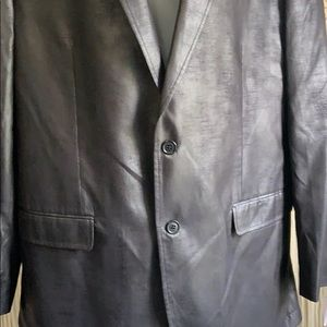 Calvin Klein Suits & Blazers - Calvin Klein suit jacket/blazer faux leather NWT
